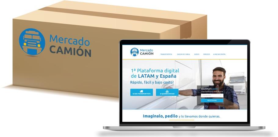 Plataforma digital para el transporte terrestre